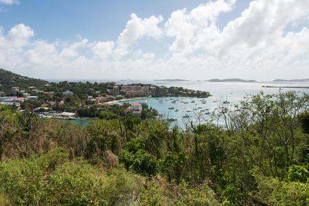 virgin islands: Cruz Bay, St. John, U.S. Virgin Islands
