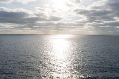 Sunrise over the Pacific Ocean, Baja California, Mexico