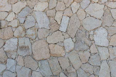 Rough stone wall, San Jose del Cabo, Baja California, Mexico Stock fotó - 73965821