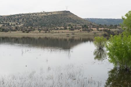 Watson Lake in the desert north of Prescott, Arizona