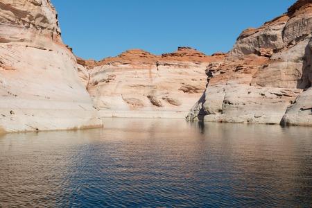 Navajo sandstone walls, Antelope Canyon, Page, Arizona