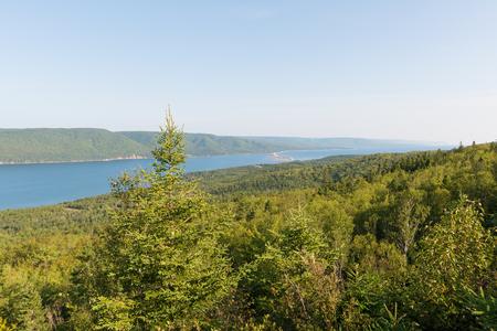 세인트 앤 하버, 케이프 브레튼 섬, 노바 스코샤, 캐나다 스톡 콘텐츠 - 85951816