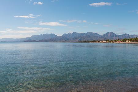 Beach resort on the Sea of Cortez, Loreto, Baja California, Mexico