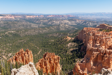 Hoodoos from Rainbow Point, Bryce Canyon National Park, Utah