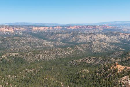 Hoodoos from Rainbow Point, Bryce Canyon National Park, Utah