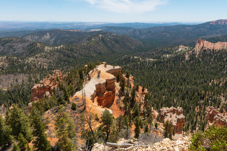 Hoodoos from Piracy Point, Bryce Canyon National Park, Utah 스톡 콘텐츠
