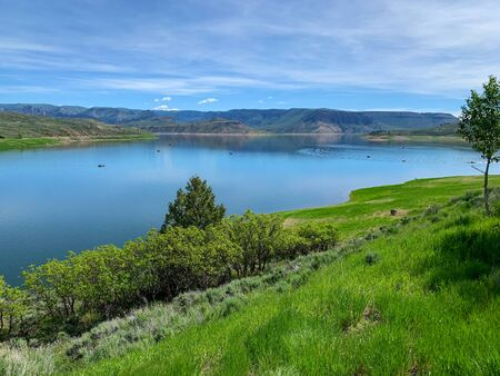 Blue Mesa Reservoir on the Gunnison River, Gunnison, Colorado