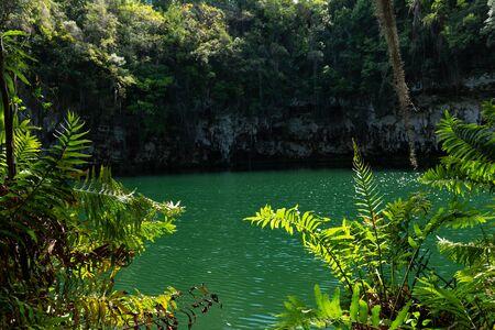 Underground lakes, Los Ojos National Park, Santo Domingo, Dominican Republic