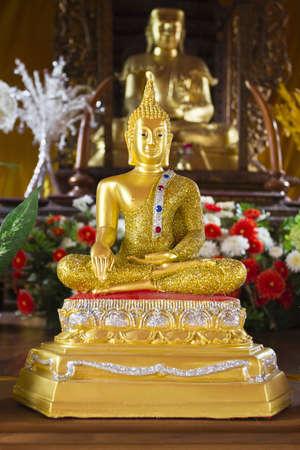 Buddha in Lampang Thailand Stock Photo