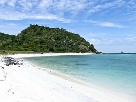 Beach at Rin island Pattaya Thailand