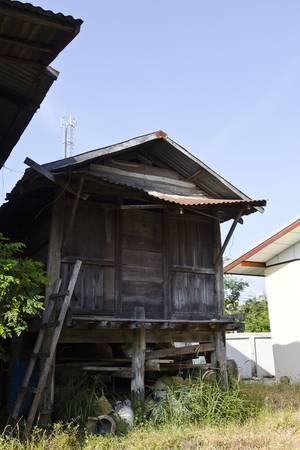 dwelling: Thailand Dec 2011: The rice