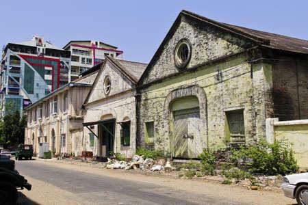 Old building in Myanmar Stock Photo