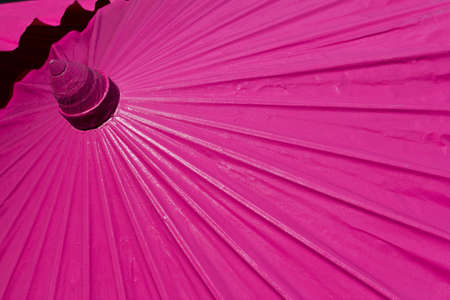 Colorful umbrella made by paper at Chiangmai, Thailand