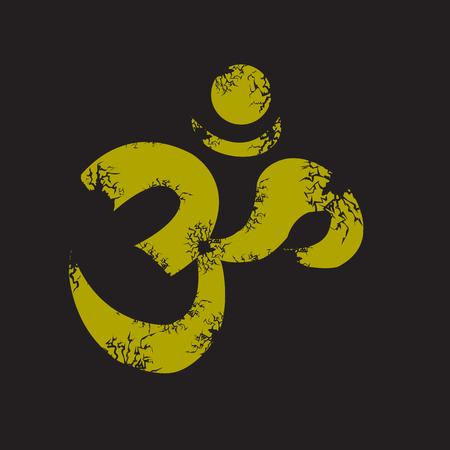 om sign: om sign and symbol. V Illustration