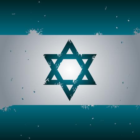 Star of David, vector eps 10