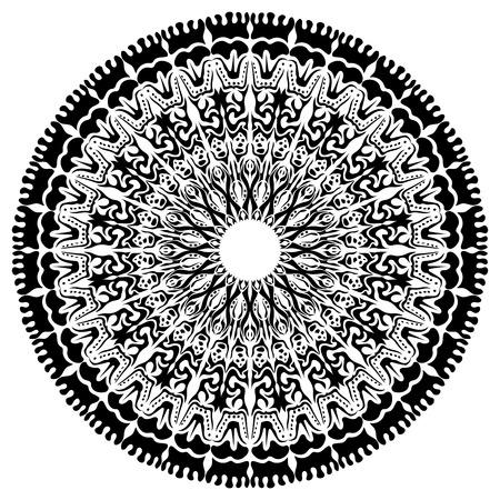 eps10: Beautiful Mandala Background (EPS10 Vector)