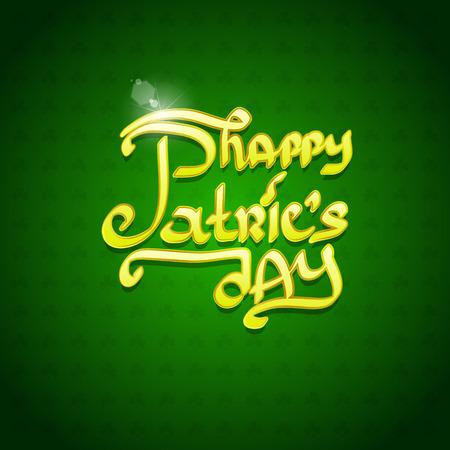leafed: Saint Patricks Day Design Illustration