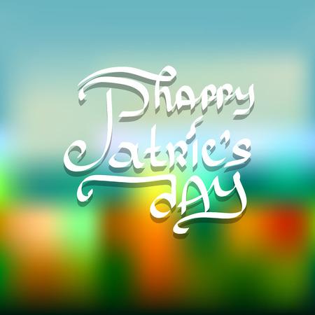 leafed: Saint Patricks Day Design.