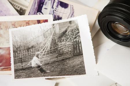 Alte Fotografie Erinnerungen