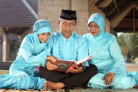 muslim woman: Muslim Family