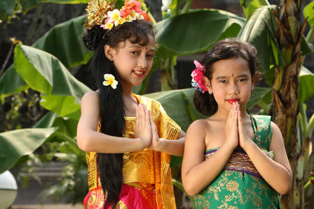 Bali Girl Stock Photo