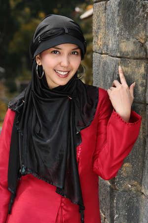 jilbab: Islam, Muslim Girl Stock Photo