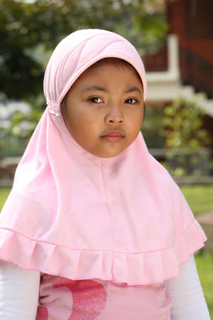 Islam, Muslim Child Stock Photo