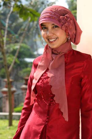 arab hijab: Islam, Muslim Woman Stock Photo
