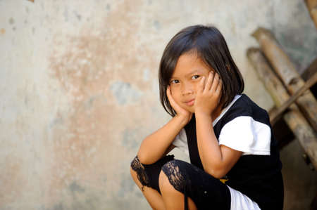 despaired: Poverty child