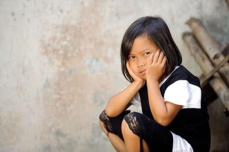 despaired: Poverty Stock Photo