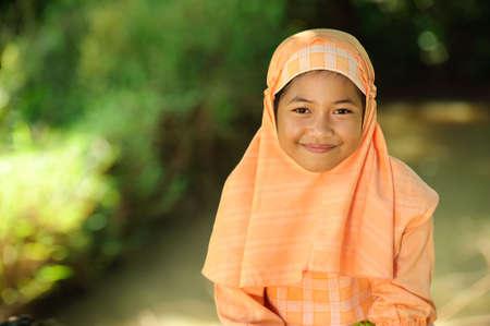 Muslim Child photo