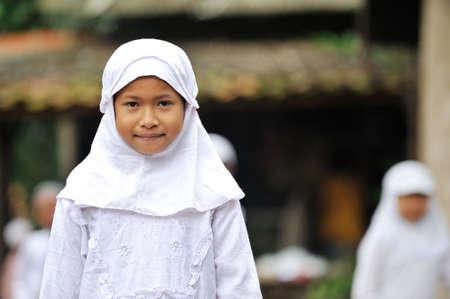 petite fille musulmane: Enfants musulmans