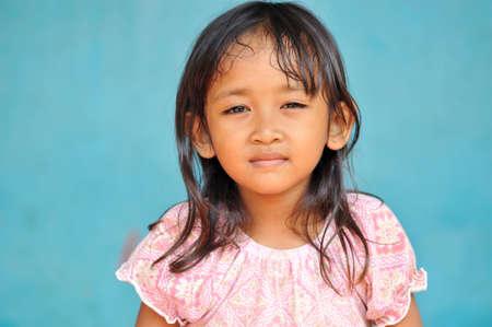 child poverty: Child in Poverty Stock Photo