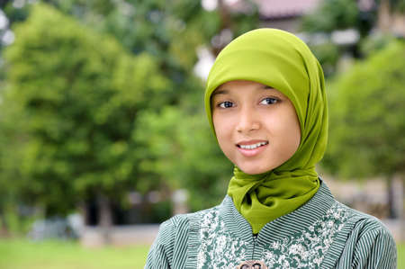 indonesia girl: Muslim Young Woman