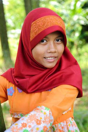 jilbab: Muslim Teenager Girl