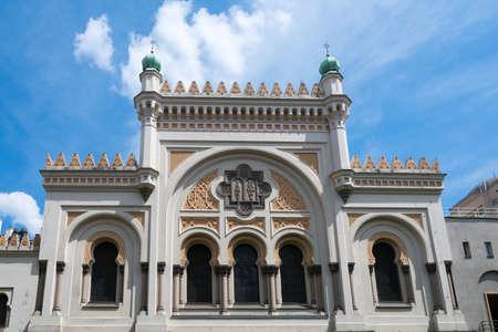 jewish quarter: Spanish Synagogue in Prague, Czech Republic.