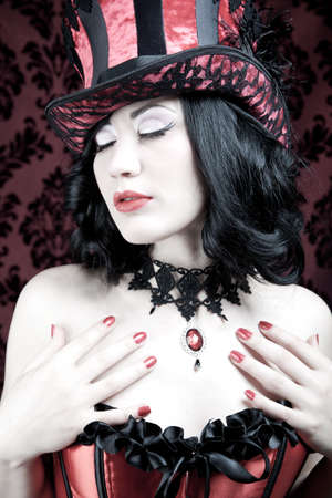 A burlesque woman  photo