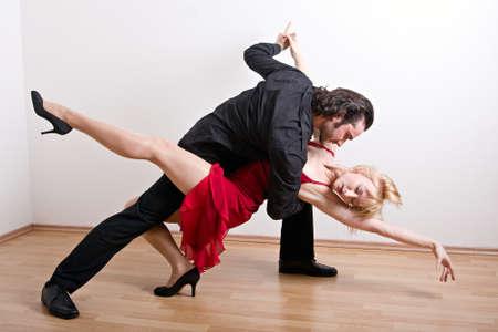 A dancing couple Stock Photo - 14596653