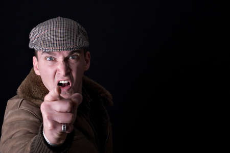 Shouting man Stock Photo - 16832914