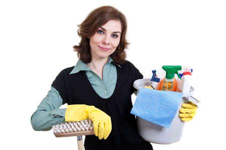 femme nettoyage: Femme de m�nage