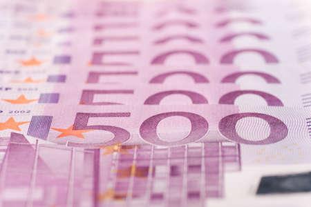 500 Euro banknotes Stock Photo