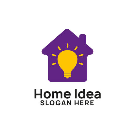 creative home idea logo designs template