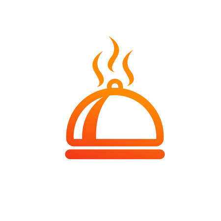 Dish, food, hot, meal, restaurant icon design