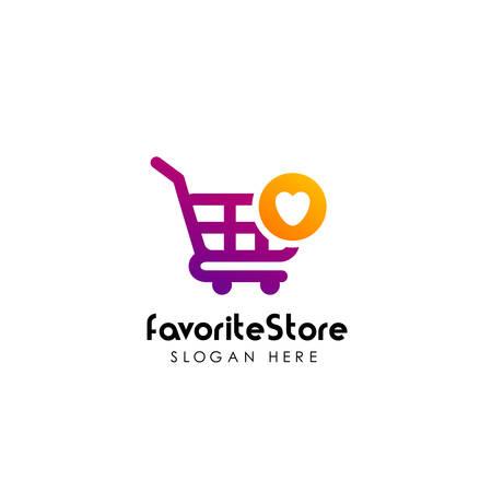 best stores logo design. best shop logo icon design