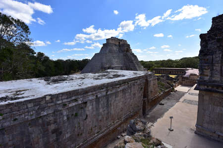 Uxmal Archaeological Complex is the best preserved Mayan remains in Yucatan Peninsula.Representative constructions of site are:the Leader's Palace, Magician's Pyramid,Administrative Palace.