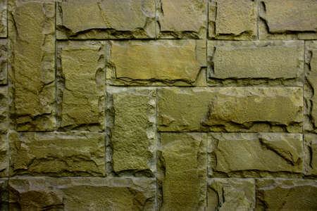 clinker: Vintage muro di pietra di clinker per sfondi e sfondi  Archivio Fotografico