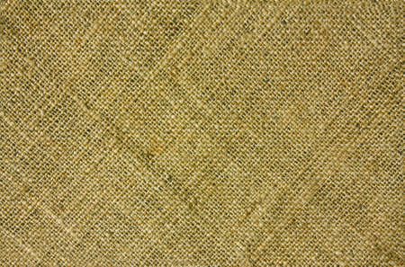Texture of burlap with a diagonal pattern for the background and scrapbook Stock Photo - 7642653