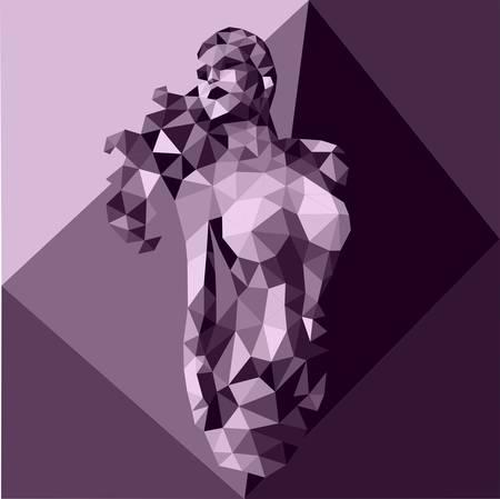 act feminine styles polygonal
