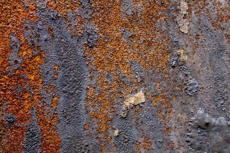 Texture of rusty iron.