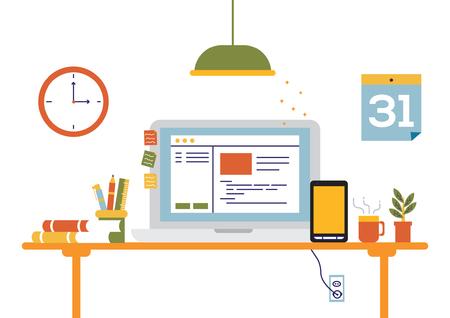 Desk Office Startup
